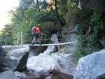 Korsika Hängebrücke
